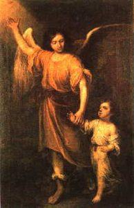 Murillo, Angel de la guarda, cathédrale de Séville