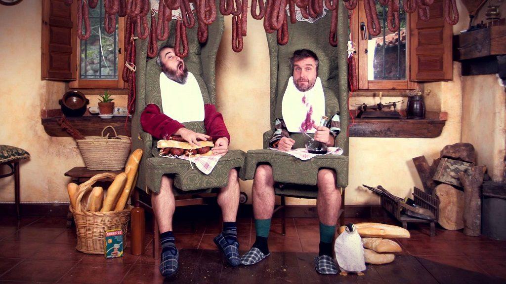 Los Gandules, duo de chanteurs humoristes espagnols