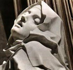 L'extase de sainte Thérèse. Le Bernin