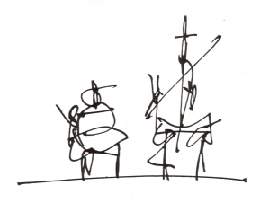 Don Quijote, illustration d'Antonio Saura